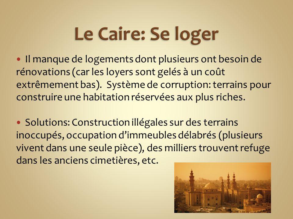 Le Caire: Se loger