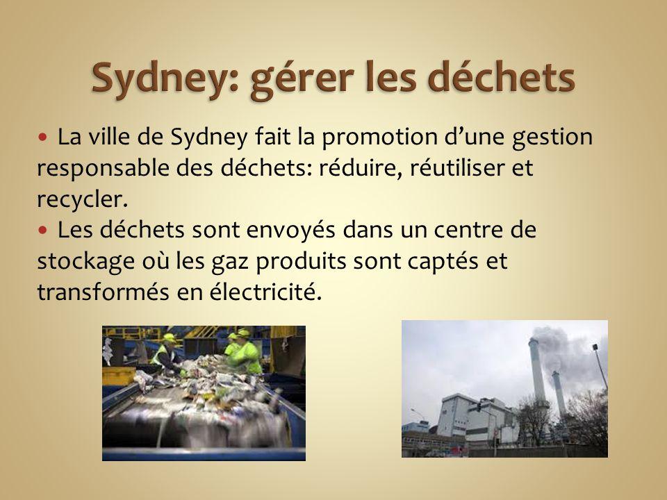 Sydney: gérer les déchets