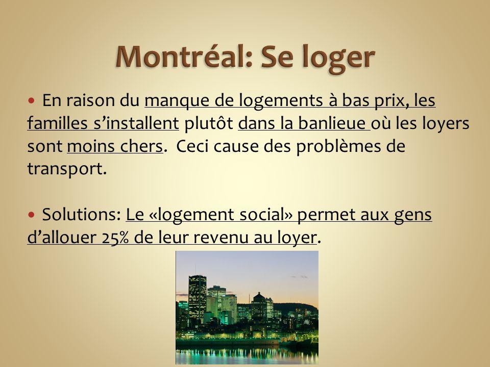 Montréal: Se loger