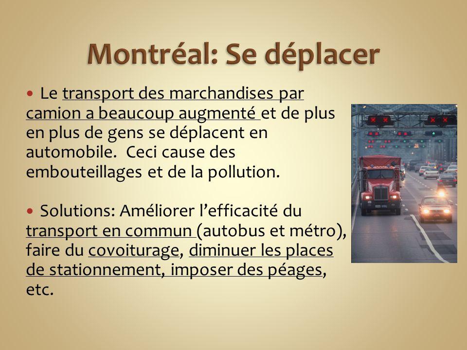 Montréal: Se déplacer