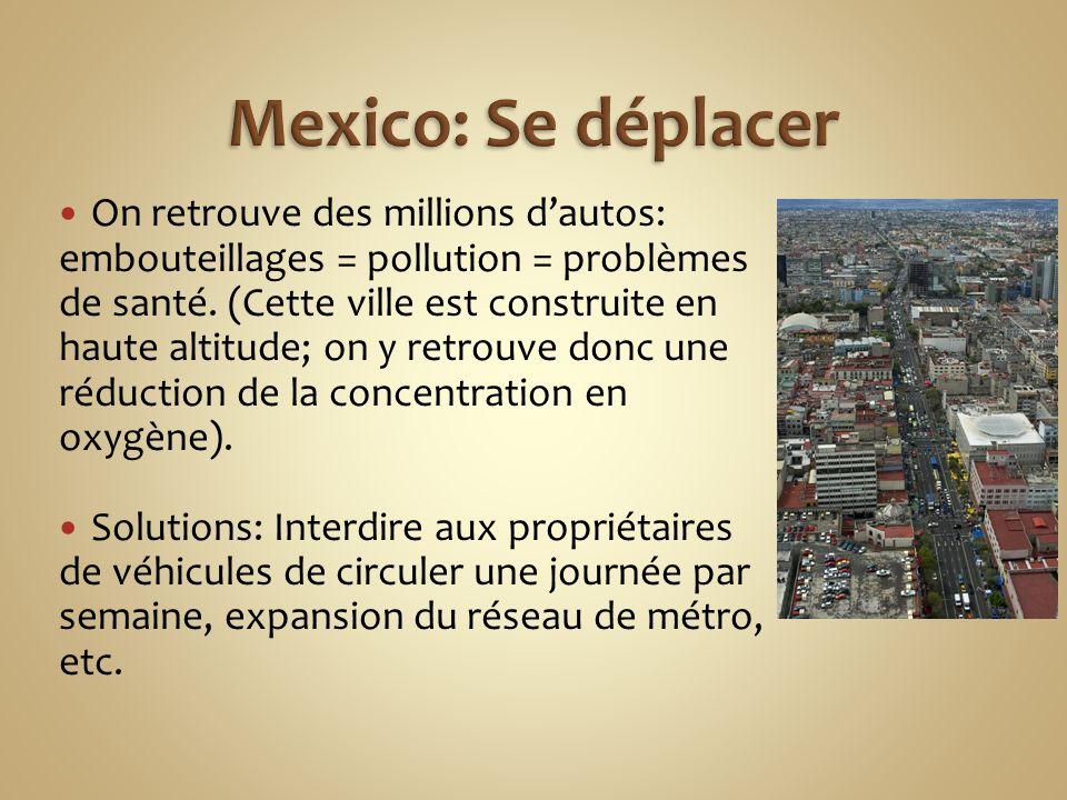 Mexico: Se déplacer
