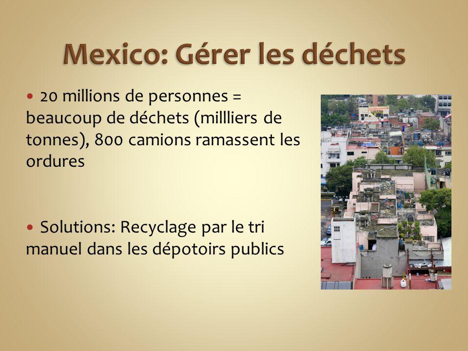 Mexico: Gérer les déchets