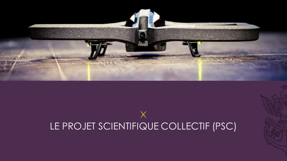 Le projet scientifique collectif (psc)