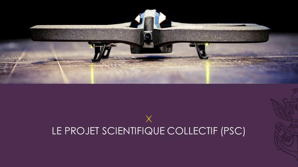 Le projet scientifique collectif (psc)