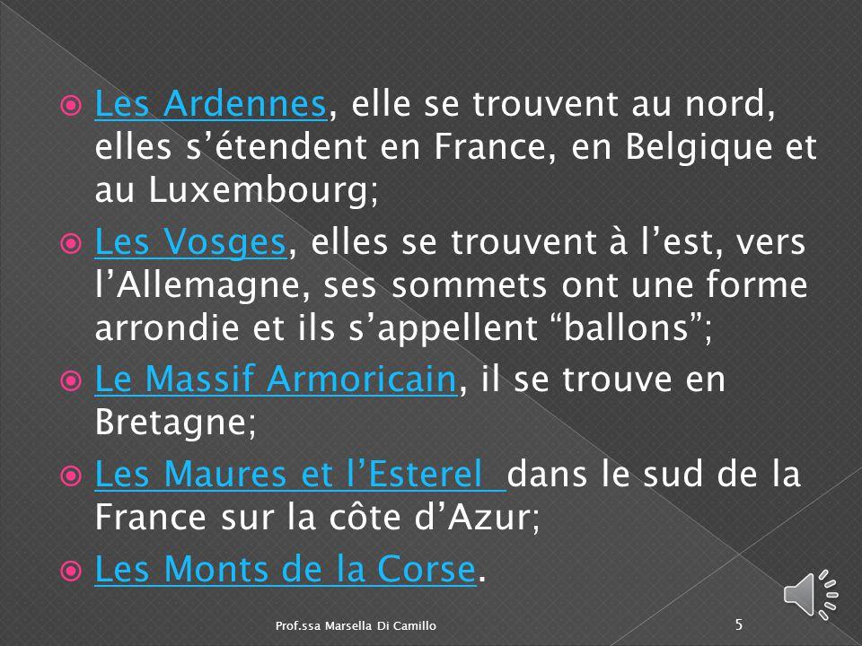 Le Massif Armoricain, il se trouve en Bretagne;