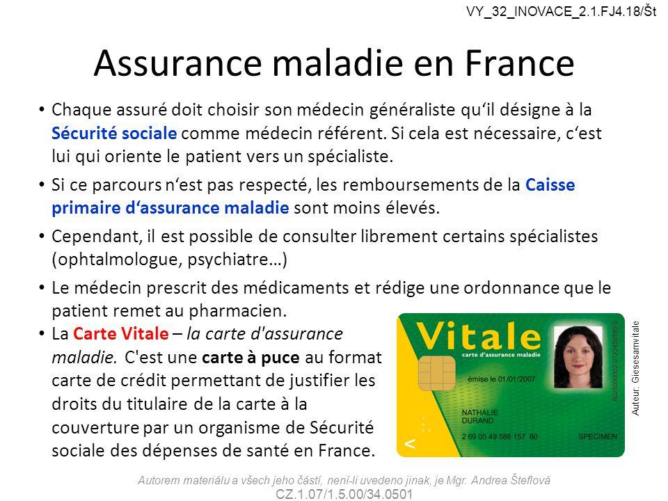 Assurance maladie en France