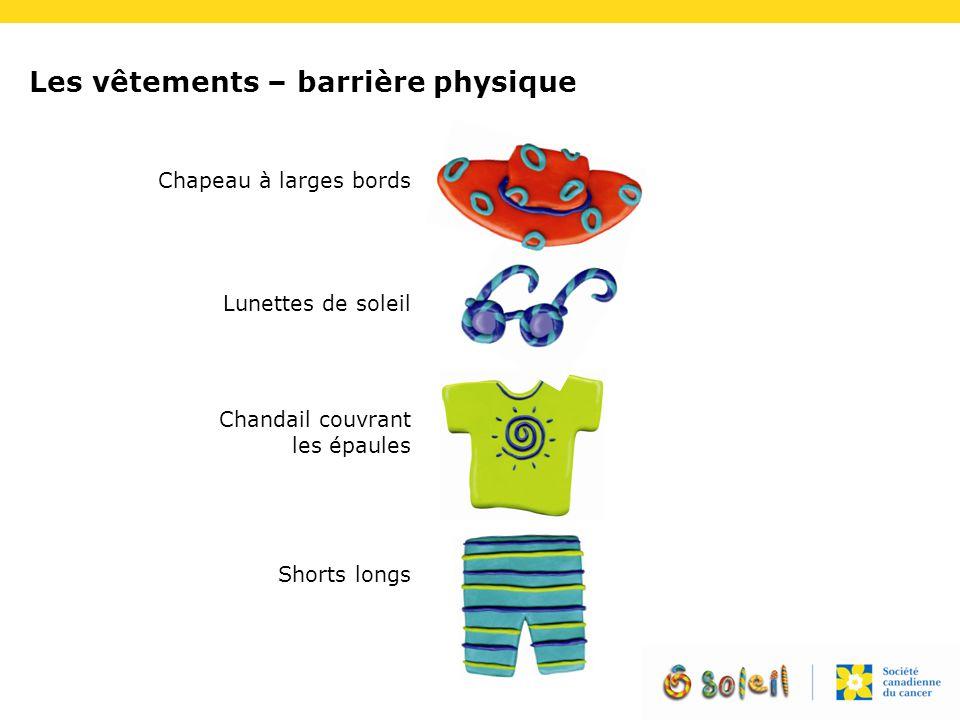Les vêtements – barrière physique