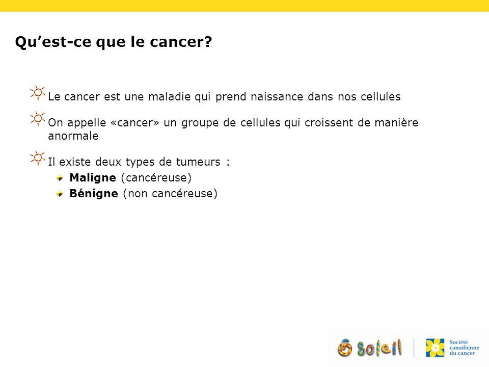Qu'est-ce que le cancer