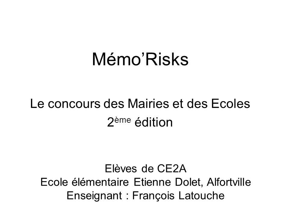 Le concours des Mairies et des Ecoles 2ème édition