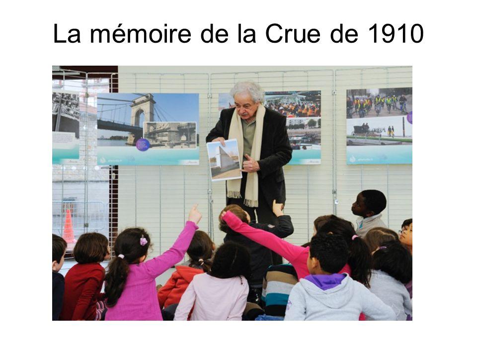 La mémoire de la Crue de 1910