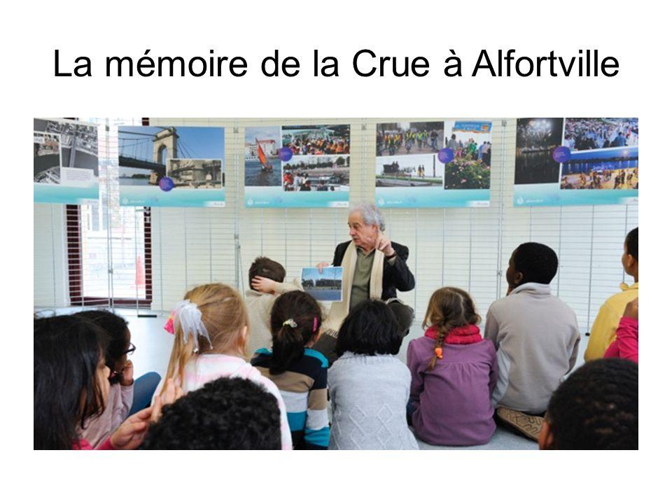 La mémoire de la Crue à Alfortville