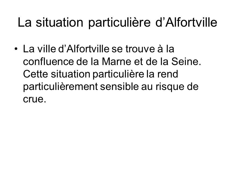 La situation particulière d'Alfortville