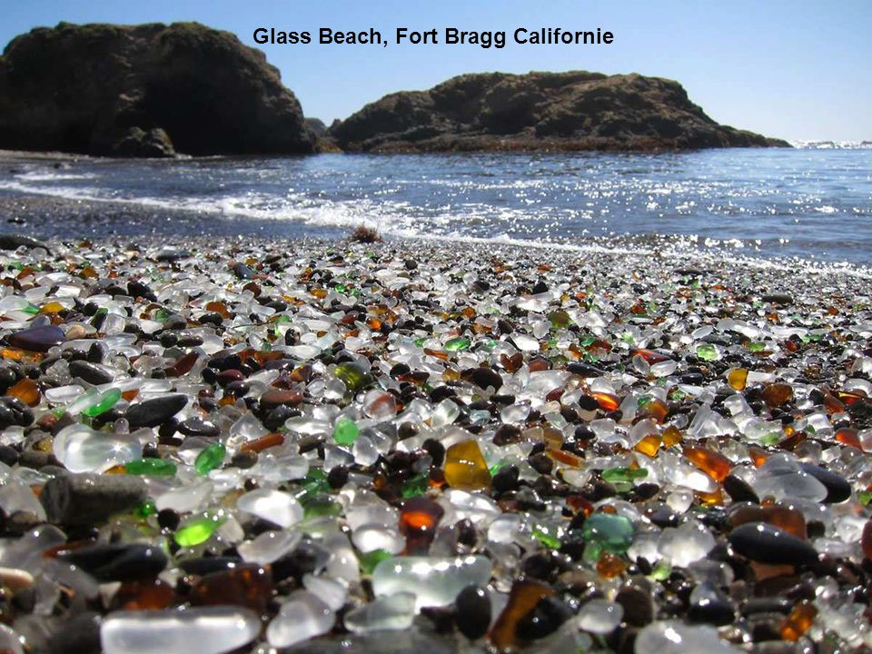 Glass Beach, Fort Bragg Californie