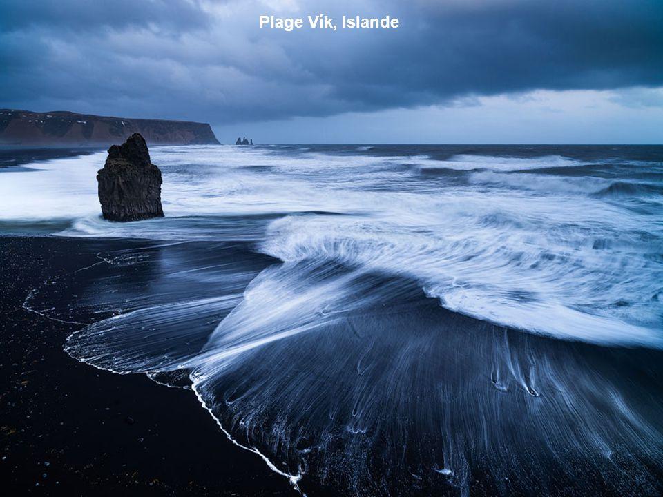 Plage Vík, Islande