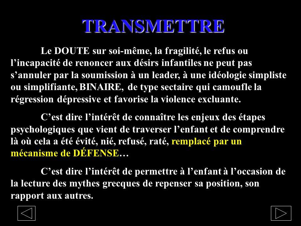 TRANSMETTRE
