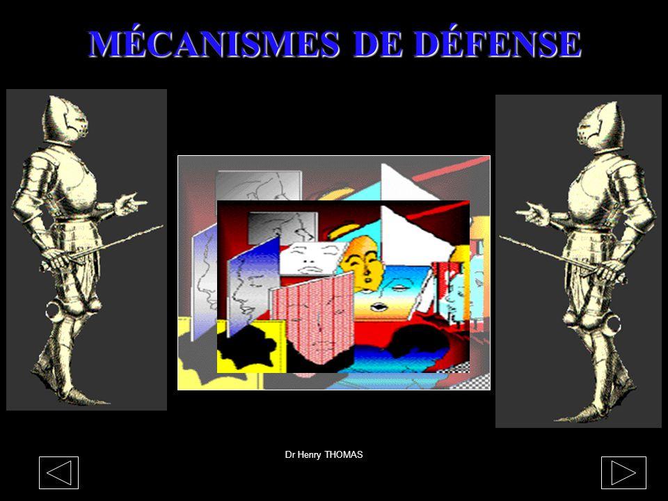 MÉCANISMES DE DÉFENSE Dr Henry THOMAS