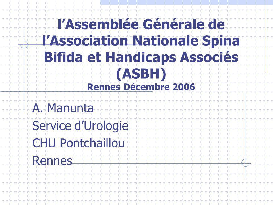 A. Manunta Service d'Urologie CHU Pontchaillou Rennes