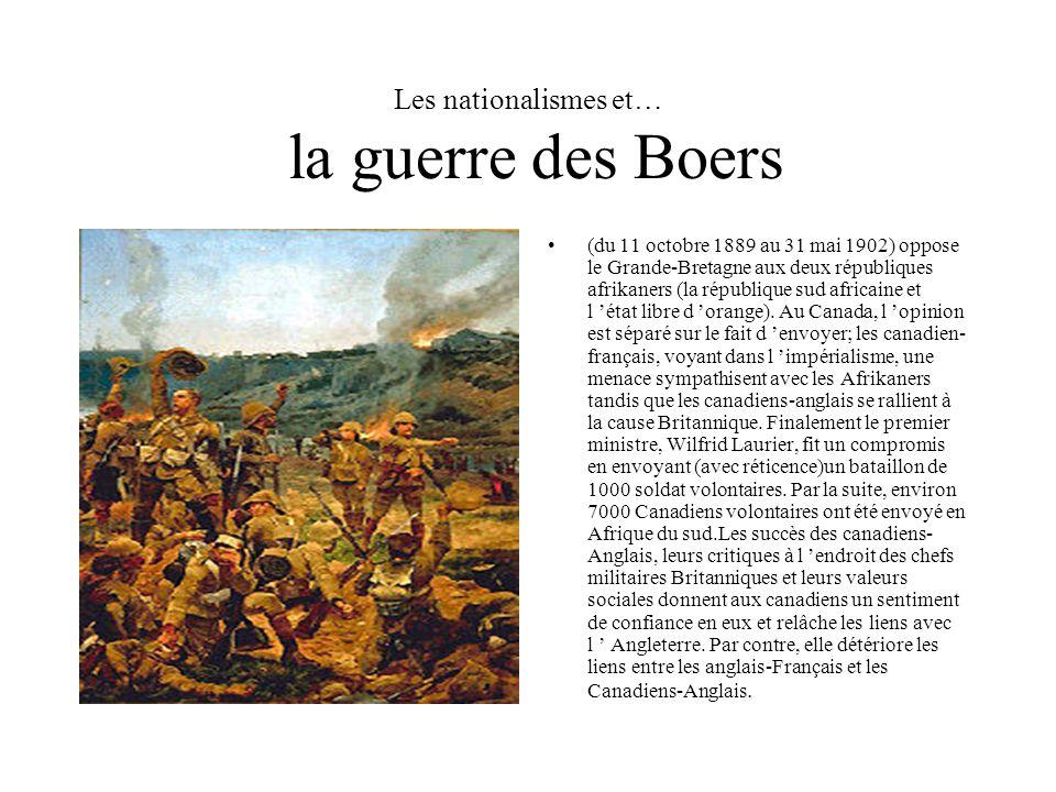 Les nationalismes et… la guerre des Boers