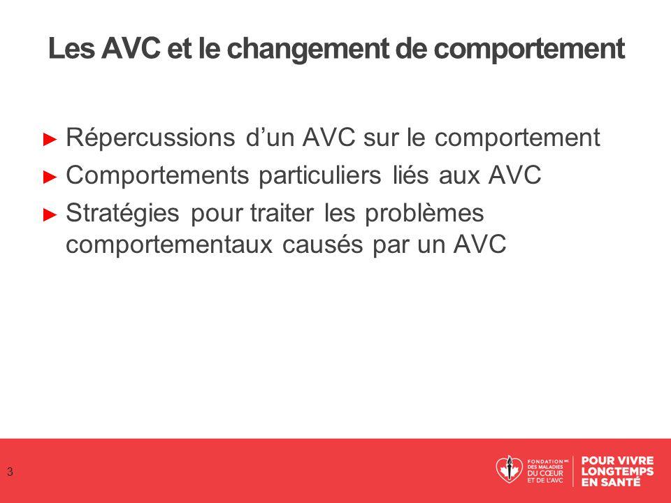 Les AVC et le changement de comportement