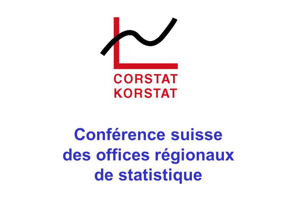 Conférence suisse des offices régionaux de statistique