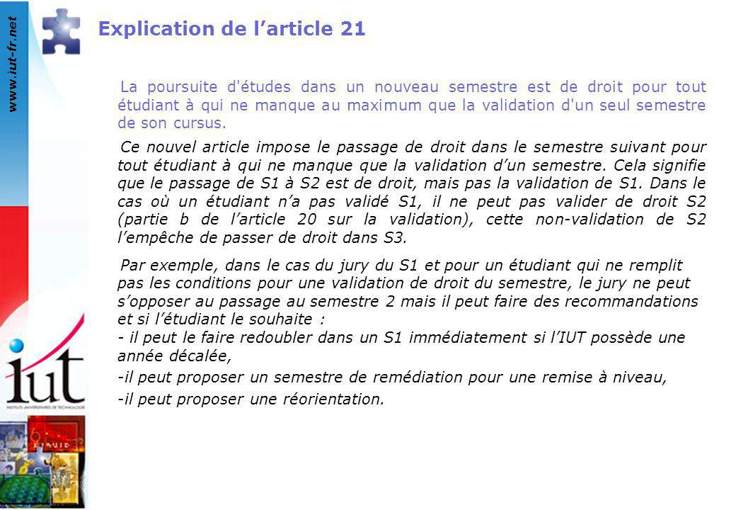 Explication de l'article 21
