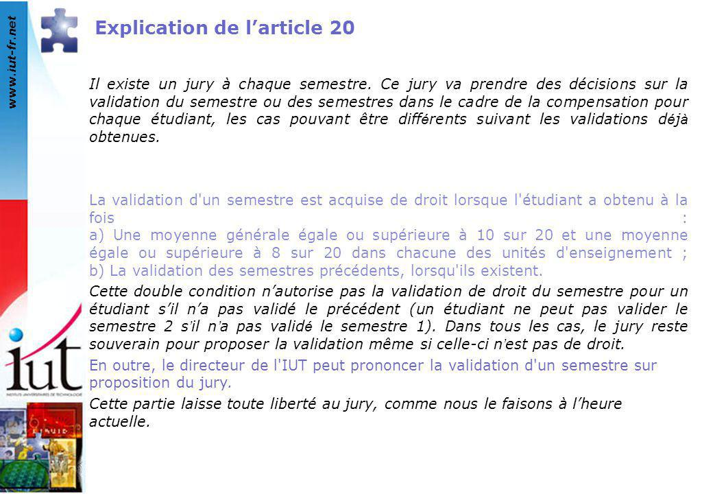 Explication de l'article 20