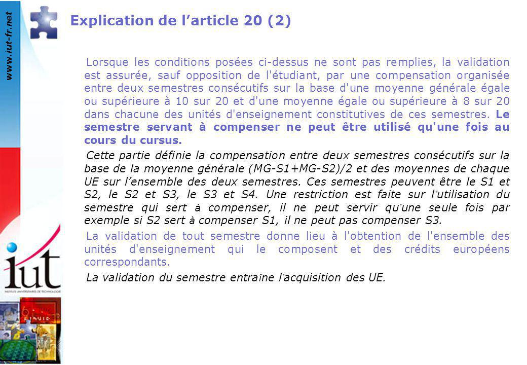Explication de l'article 20 (2)
