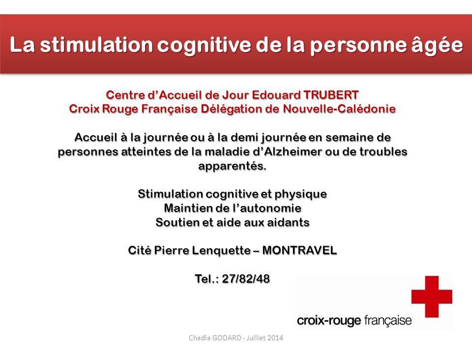 La stimulation cognitive de la personne âgée