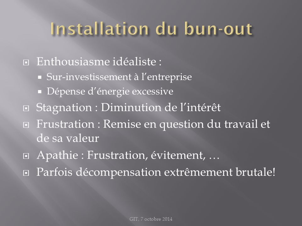 Installation du bun-out