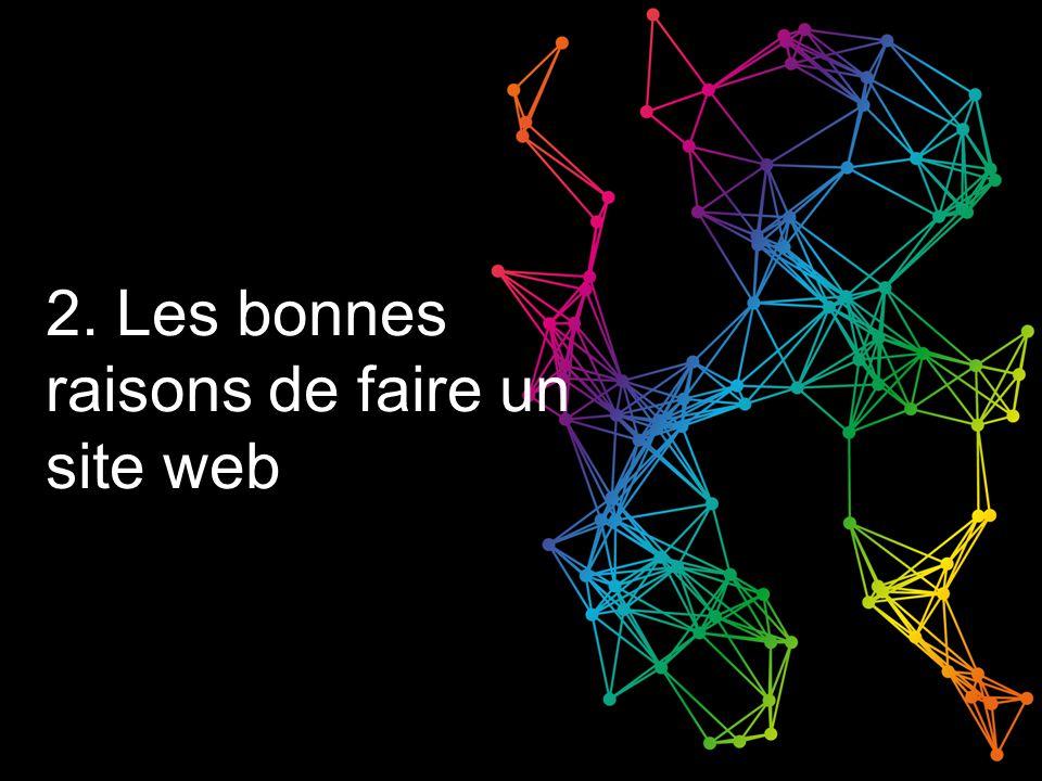 2. Les bonnes raisons de faire un site web