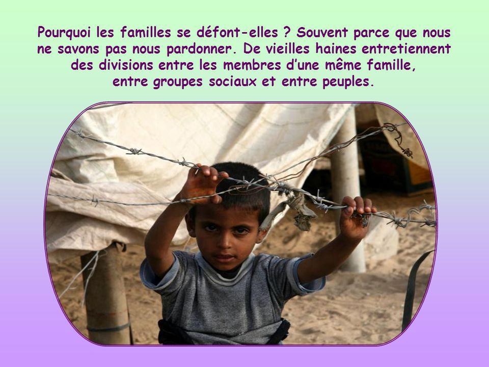 Pourquoi les familles se défont-elles