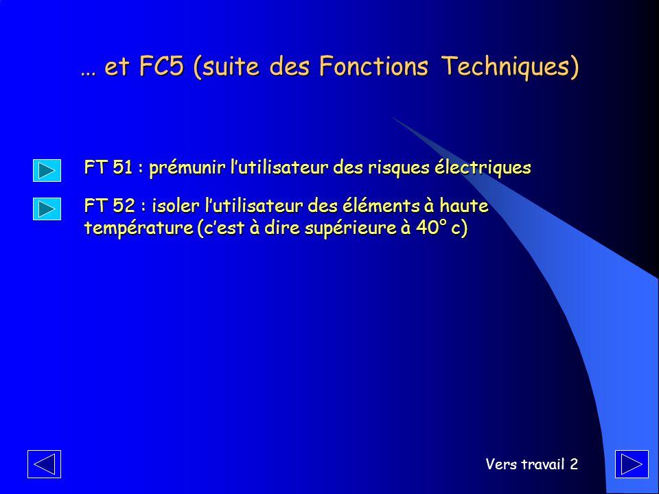 … et FC5 (suite des Fonctions Techniques)