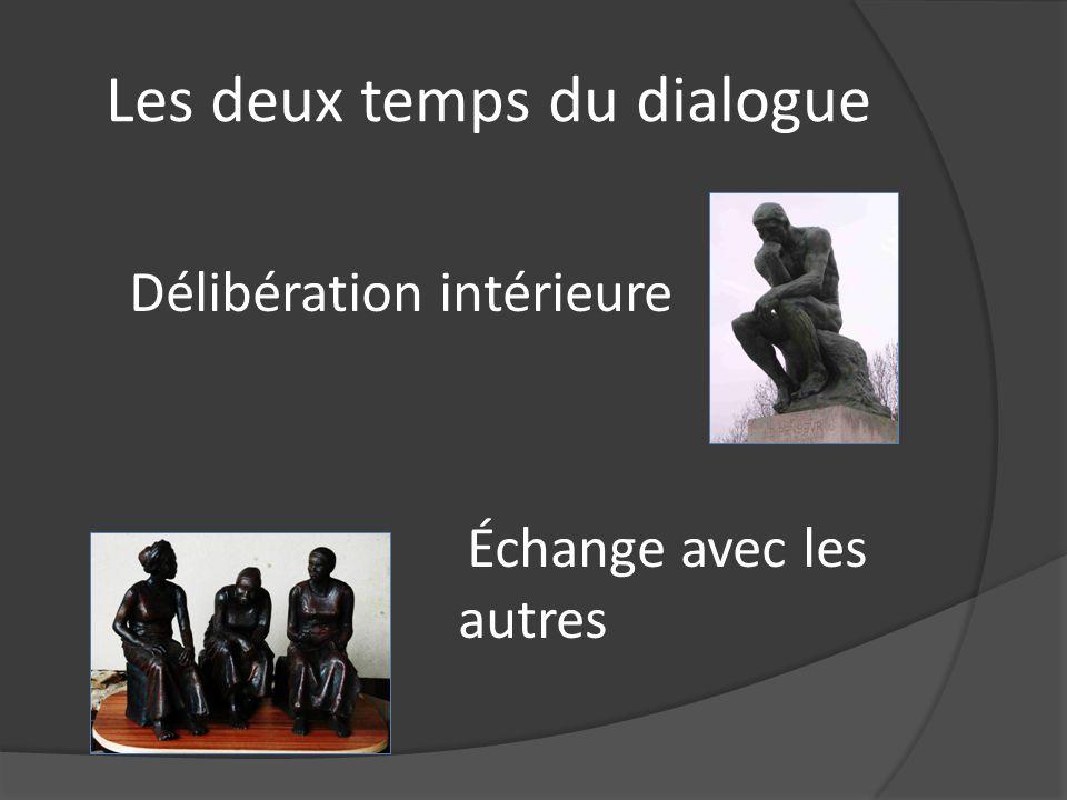 Les deux temps du dialogue