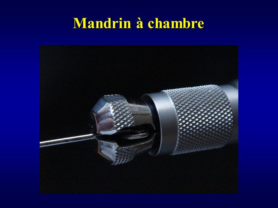 Mandrin à chambre