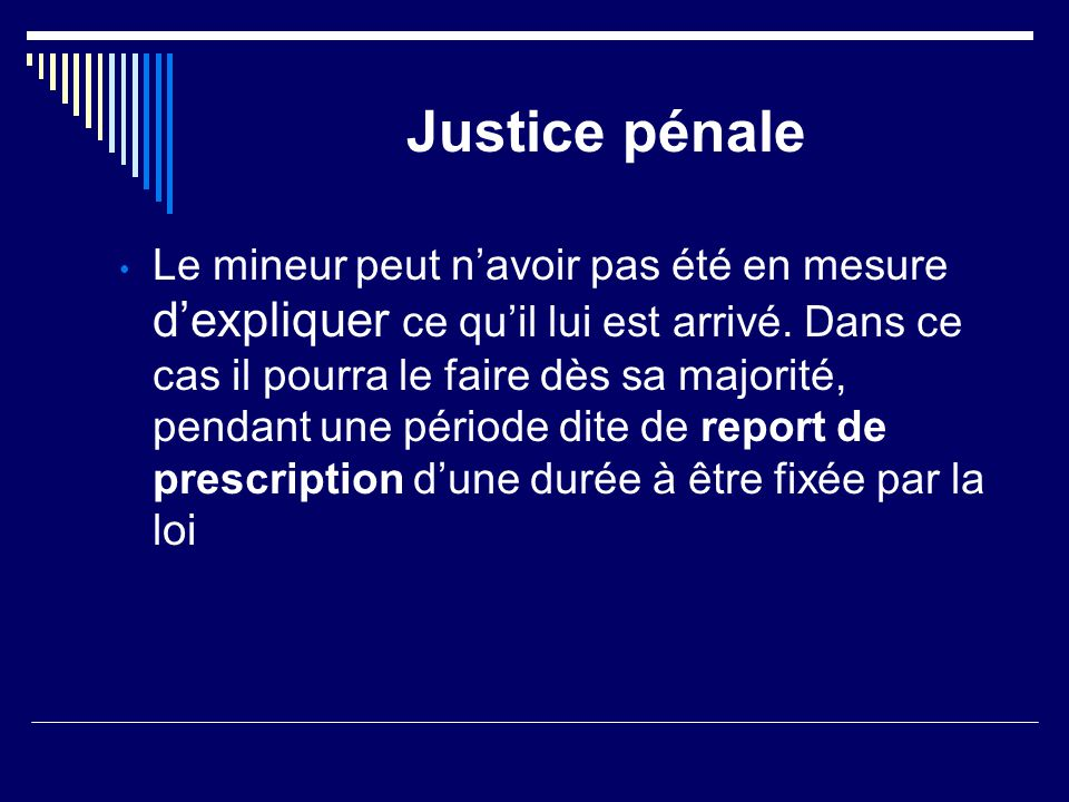 Justice pénale
