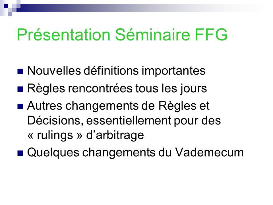 Présentation Séminaire FFG