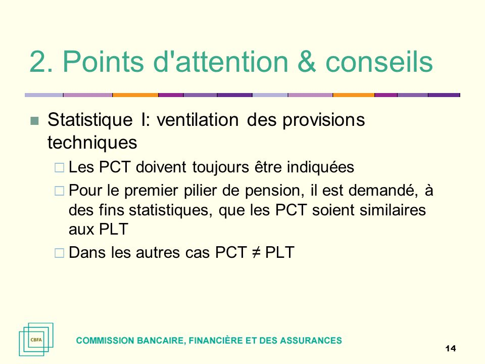 2. Points d attention & conseils