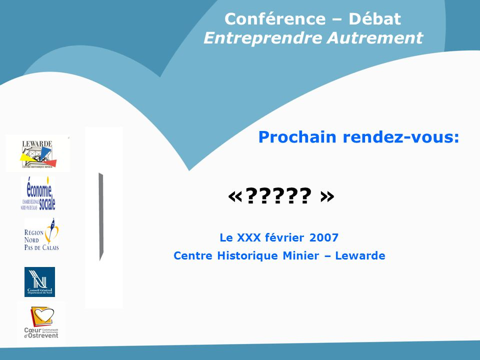 « » Conférence – Débat Entreprendre Autrement
