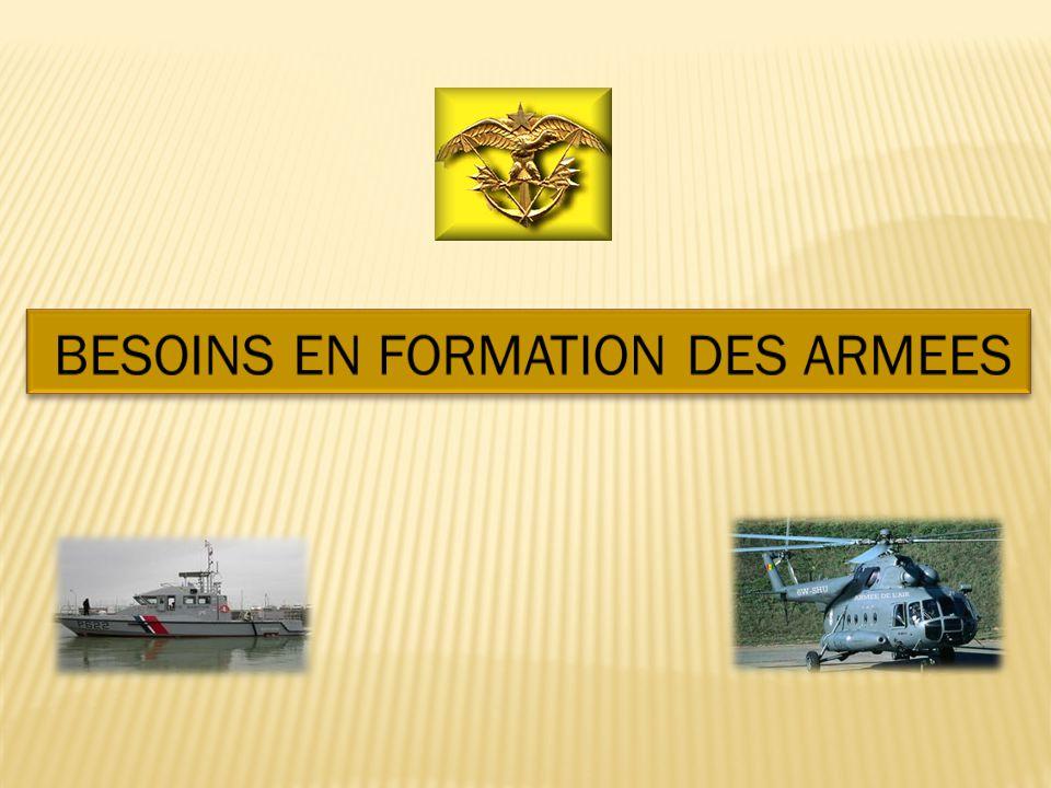 BESOINS EN FORMATION DES ARMEES