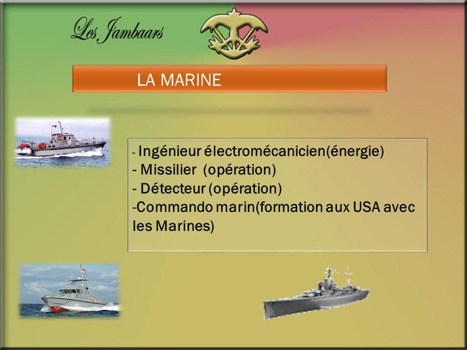 LA MARINE - Missilier (opération) - Détecteur (opération)