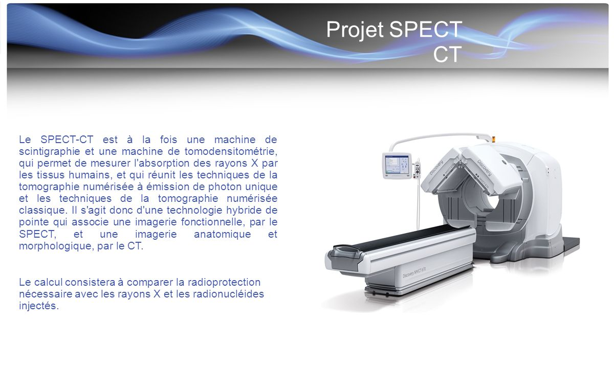 Projet SPECT CT