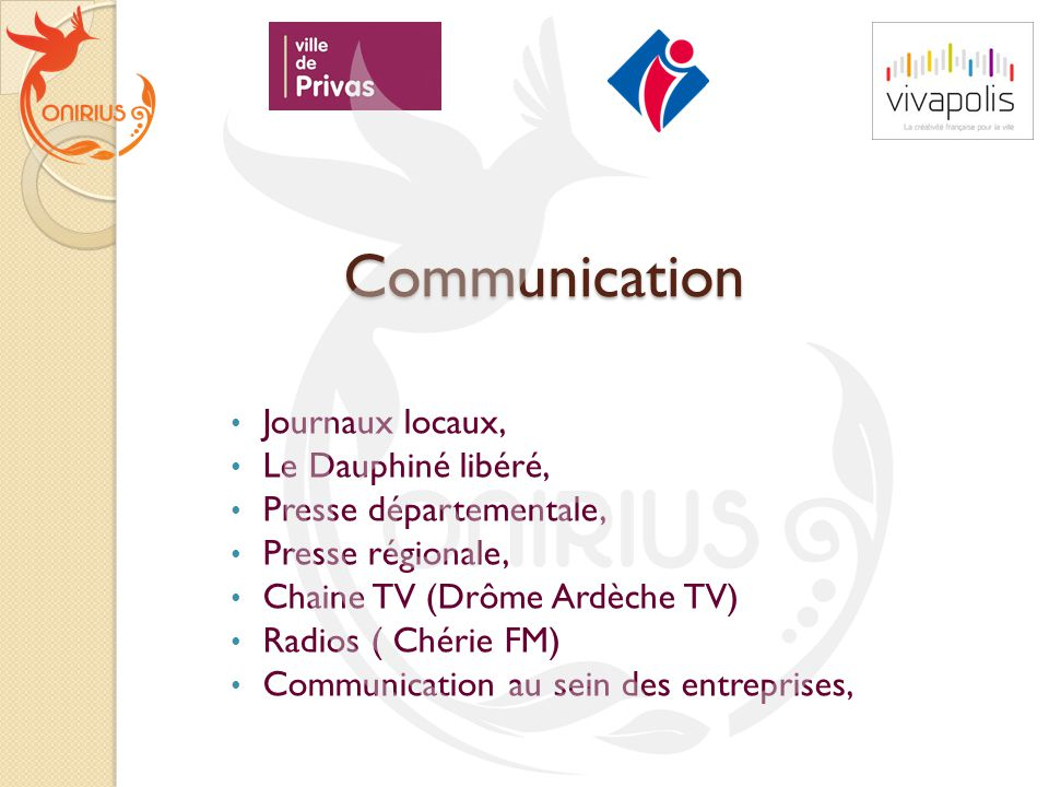 Communication Journaux locaux, Le Dauphiné libéré,