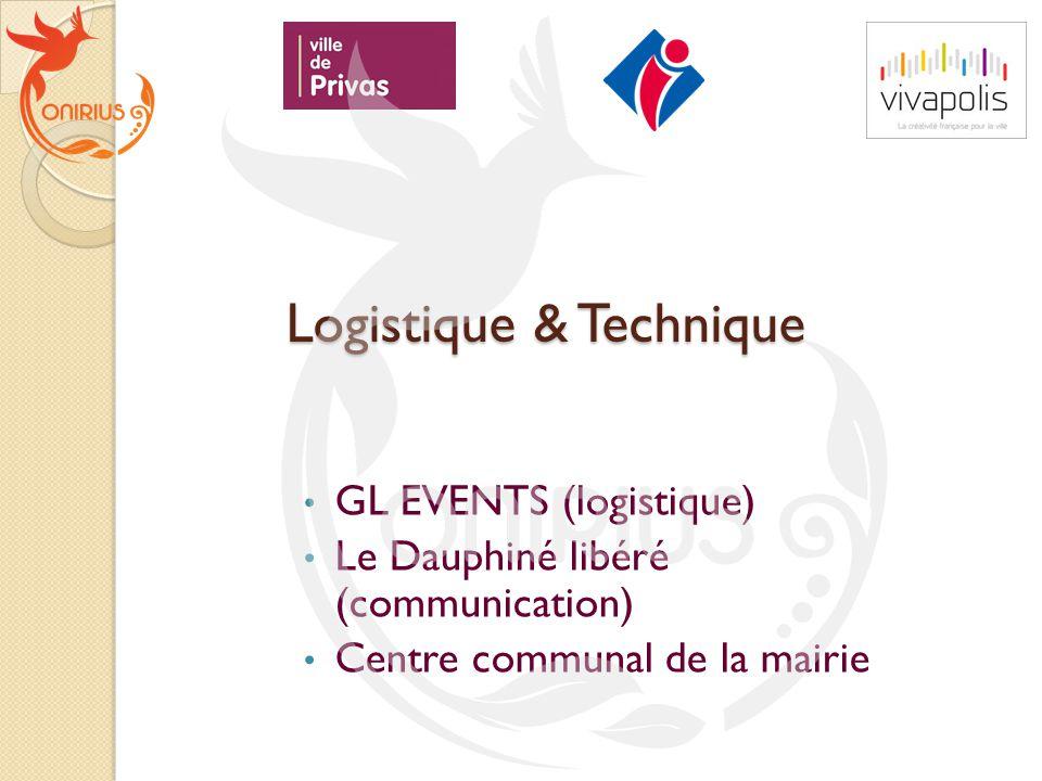 Logistique & Technique