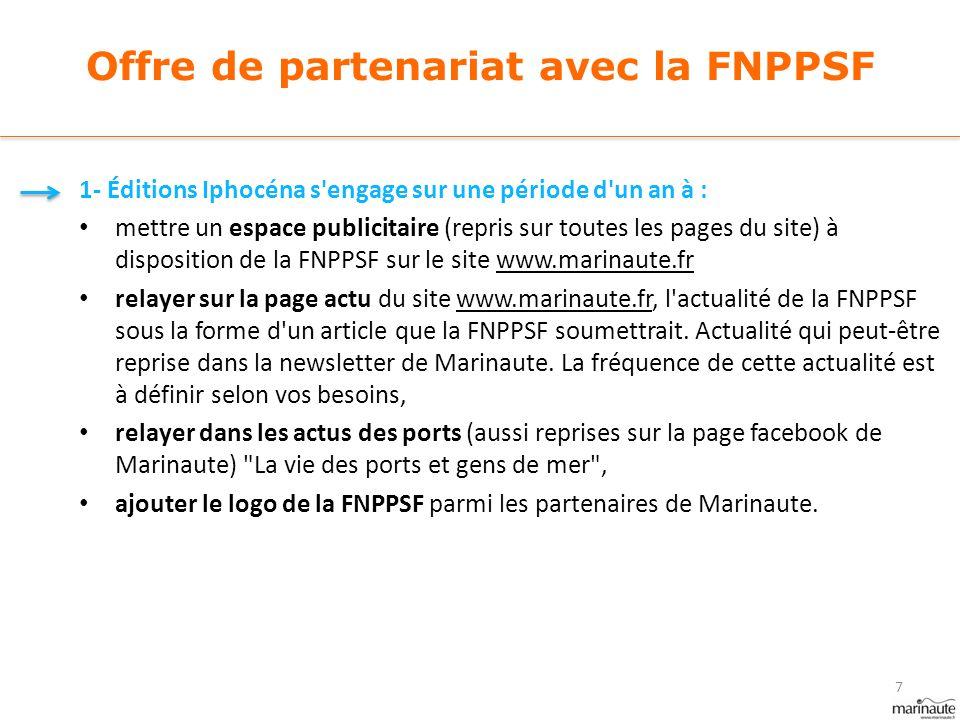 Offre de partenariat avec la FNPPSF