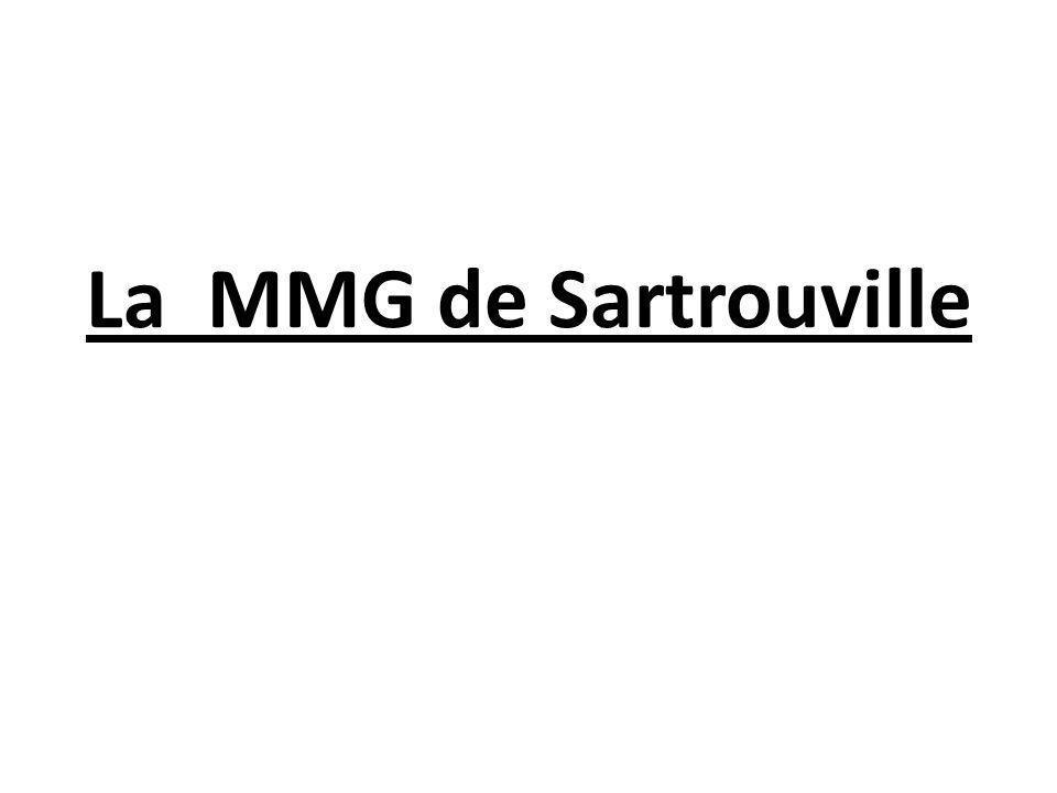 La MMG de Sartrouville