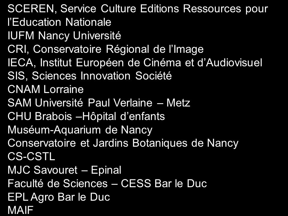 SCEREN, Service Culture Editions Ressources pour l'Education Nationale
