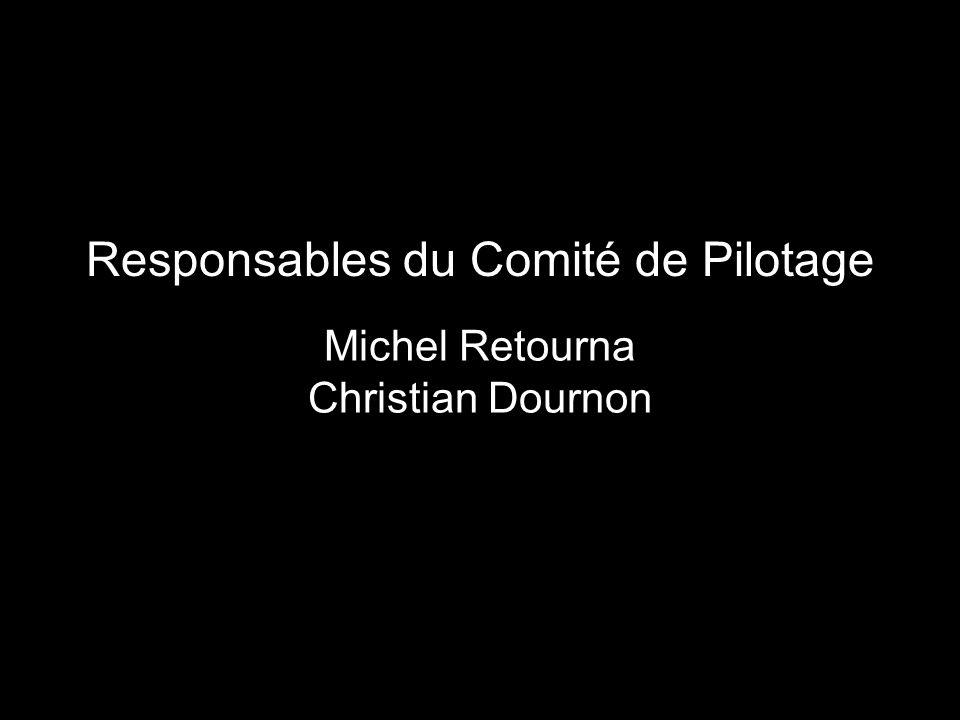Responsables du Comité de Pilotage