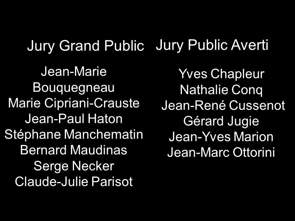Jury Grand Public Jury Public Averti Jean-Marie Bouquegneau
