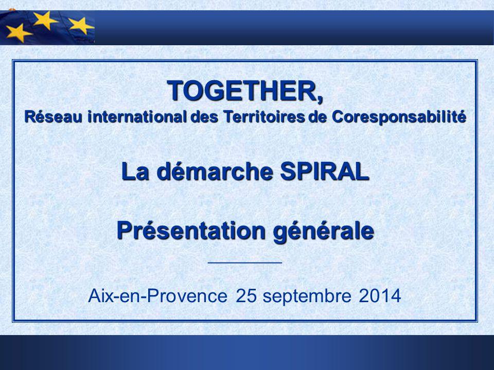 TOGETHER, La démarche SPIRAL Présentation générale