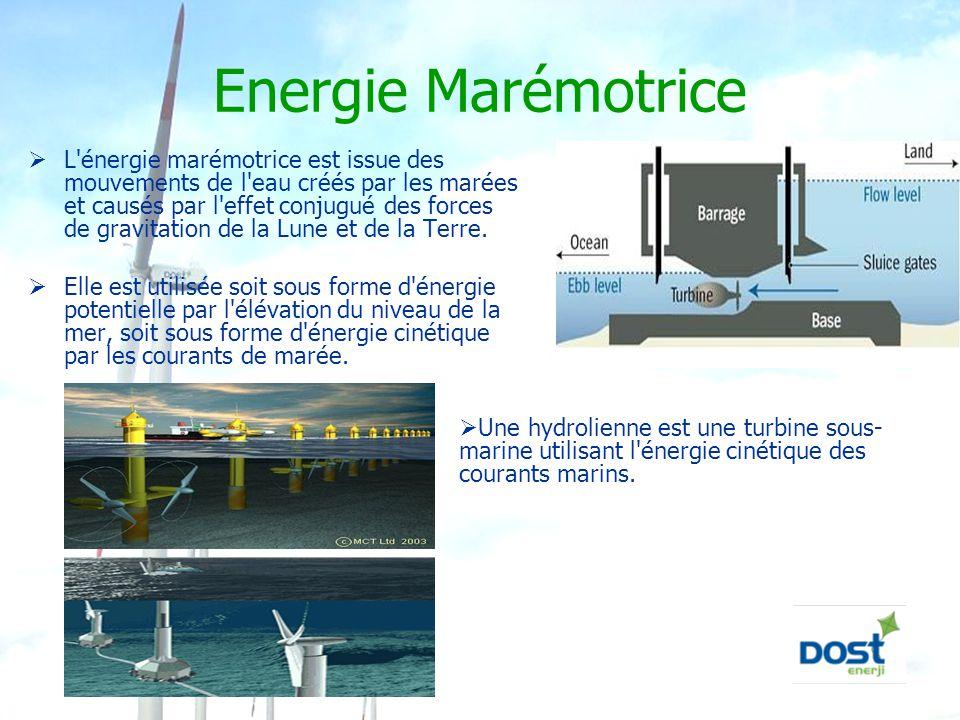 Energie Marémotrice